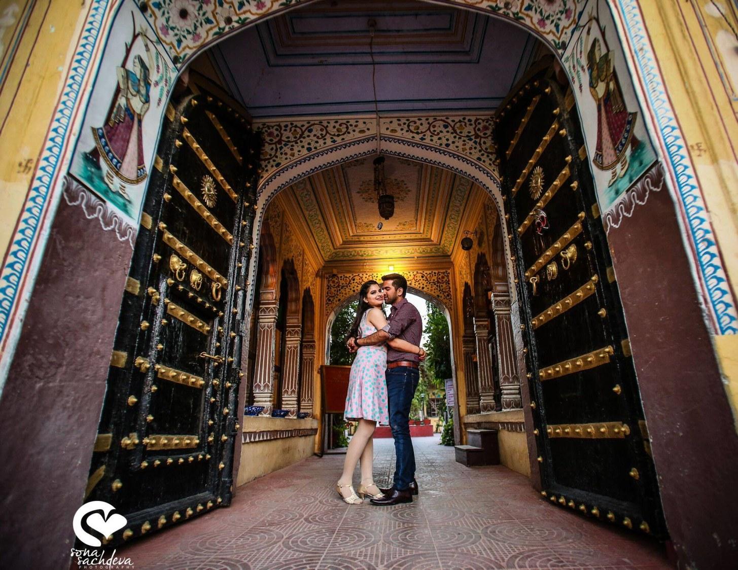 Gateway to their heaven by Sona Sachdeva Photography Wedding-photography | Weddings Photos & Ideas