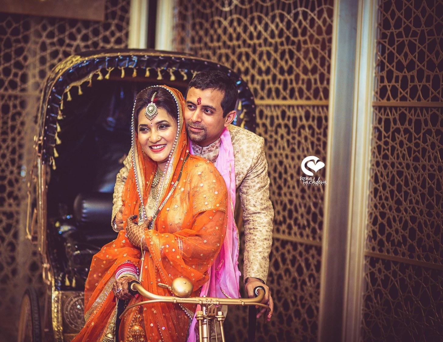 Dazzling newlyweds by Sona Sachdeva Photography Wedding-photography | Weddings Photos & Ideas