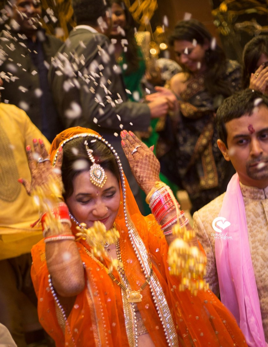 Shower of blessings by Sona Sachdeva Photography Wedding-photography | Weddings Photos & Ideas
