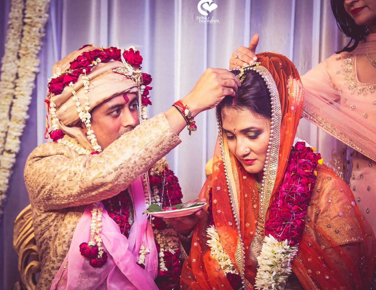 Beginning of their world by Sona Sachdeva Photography Wedding-photography | Weddings Photos & Ideas