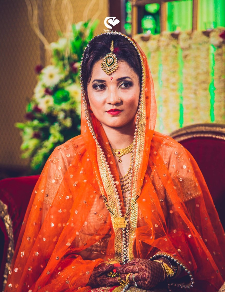 Entrancing bride by Sona Sachdeva Photography Wedding-photography | Weddings Photos & Ideas