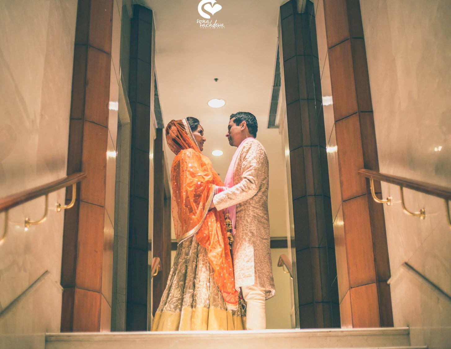 Perfect portrait of love birds by Sona Sachdeva Photography Wedding-photography | Weddings Photos & Ideas