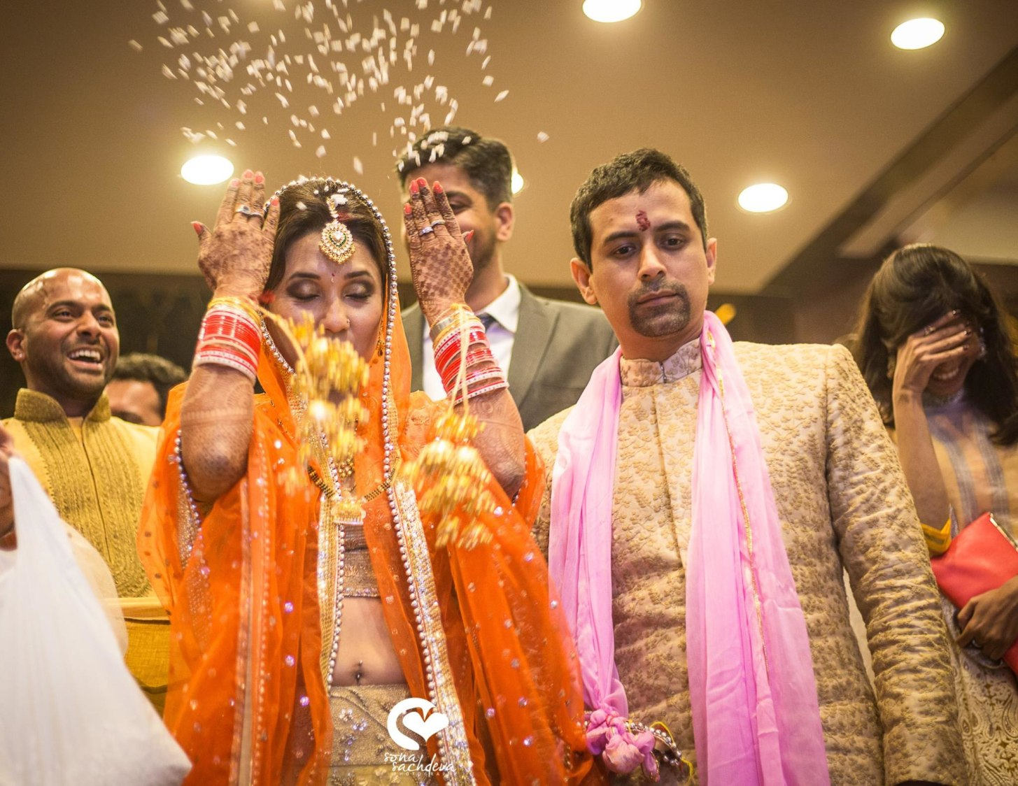 Commencing their journey by Sona Sachdeva Photography Wedding-photography | Weddings Photos & Ideas