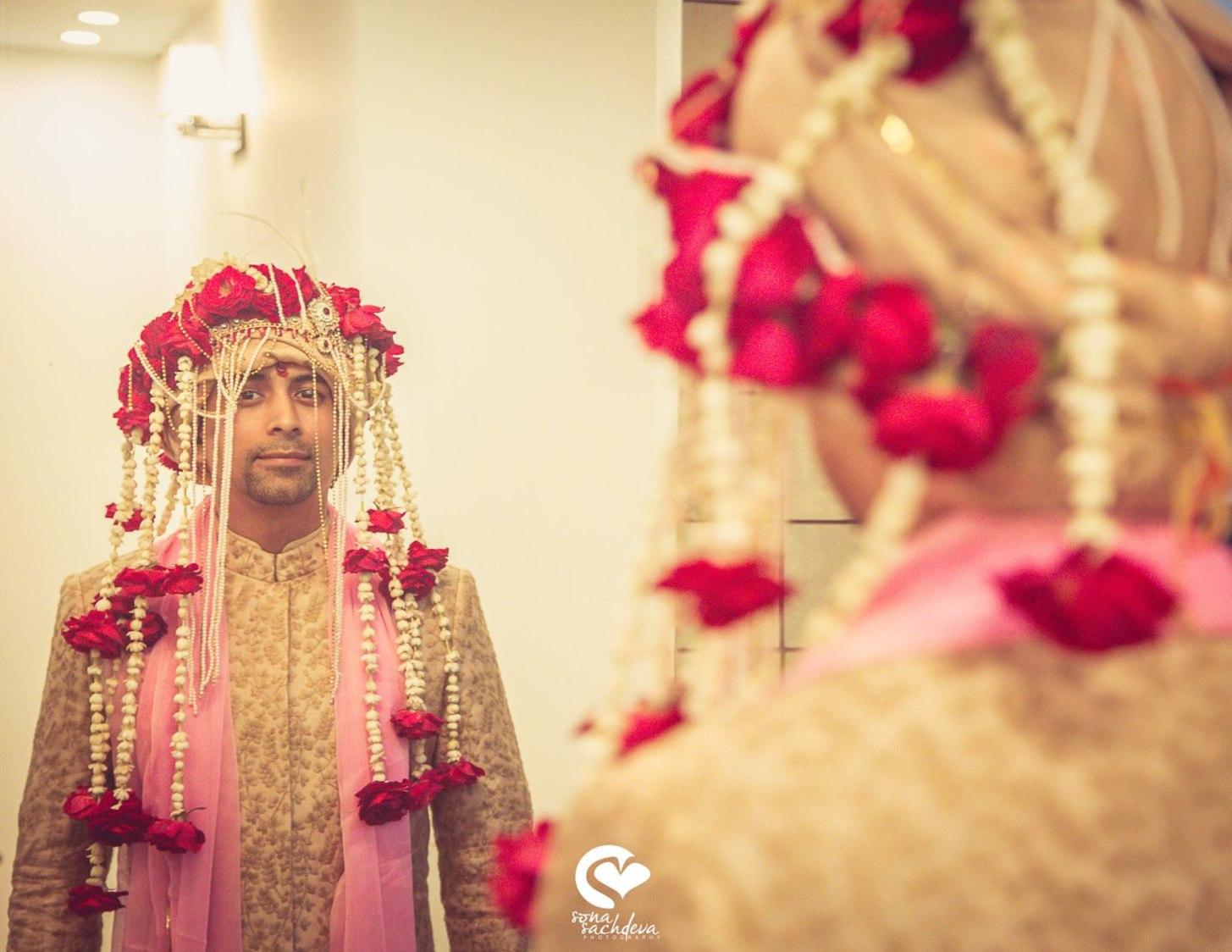 Handsome groom by Sona Sachdeva Photography Wedding-photography | Weddings Photos & Ideas