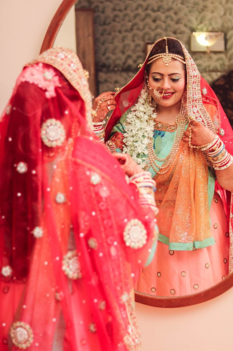 Peachy beauteous by Abhishek Modi Photography Wedding-photography | Weddings Photos & Ideas