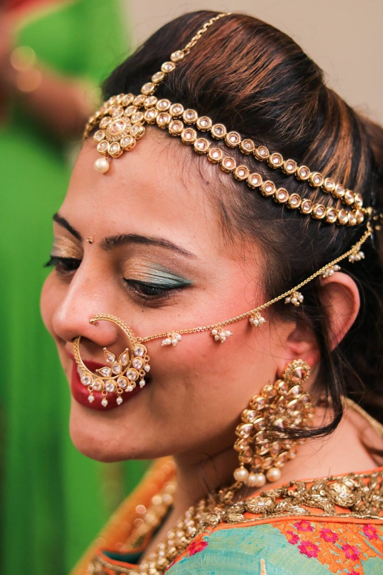 An ombre inspired makeup! by Abhishek Modi Photography Wedding-photography | Weddings Photos & Ideas