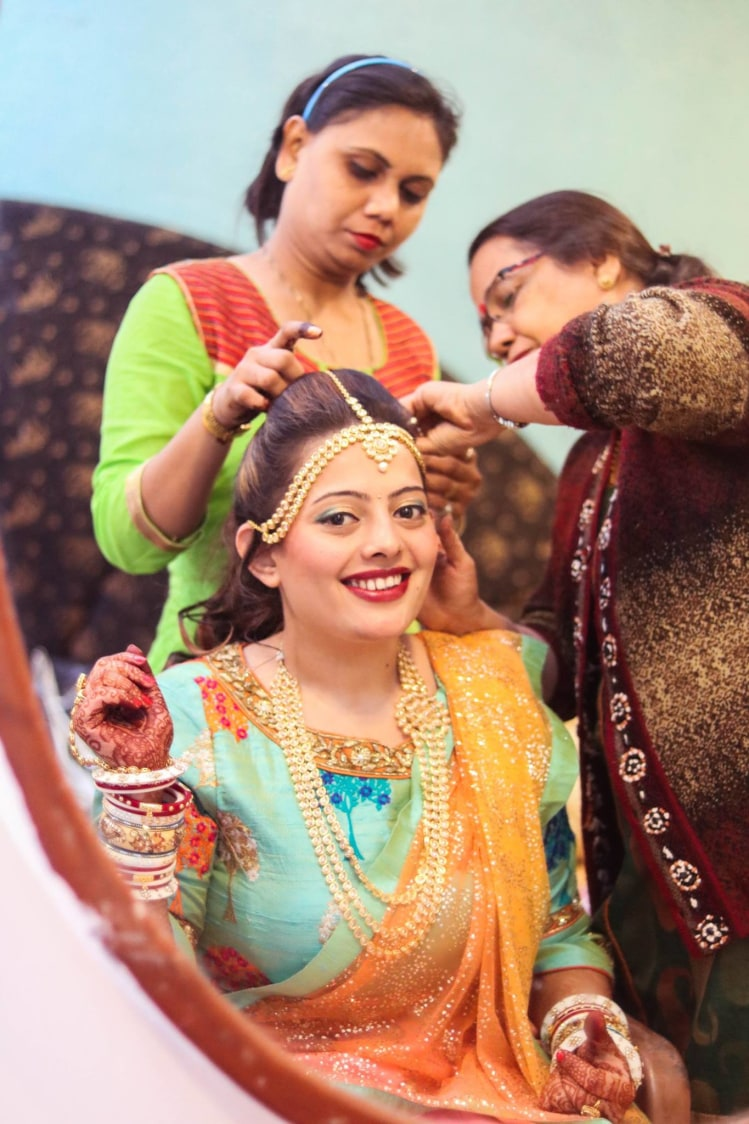 The bride is ready! by Abhishek Modi Photography Wedding-photography | Weddings Photos & Ideas