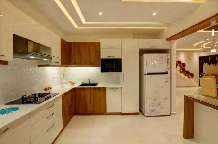 L-Shaped Modular Kitchen Ideas