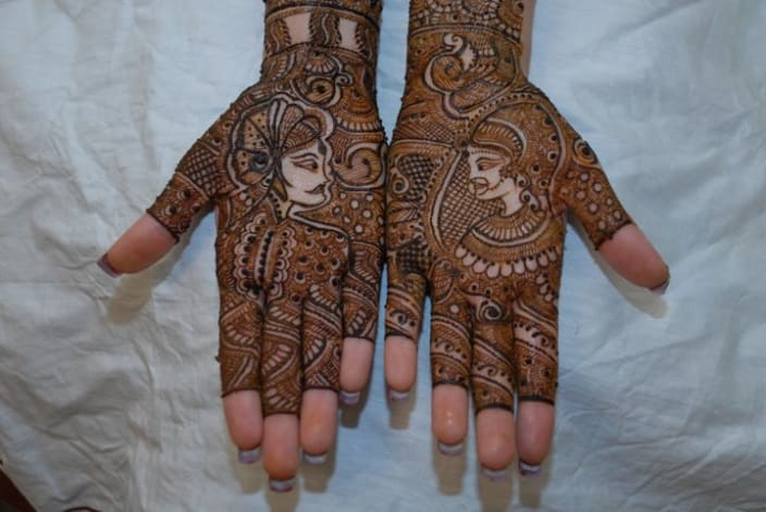 Bridal Mehndi Artist In Bangalore : Pushpa mehndi arts in bangalore urbanclap