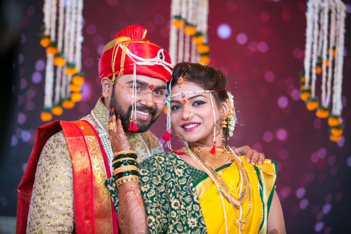 South indian wedding photography ideas urbanclap royal couple with magnificent background junglespirit Images