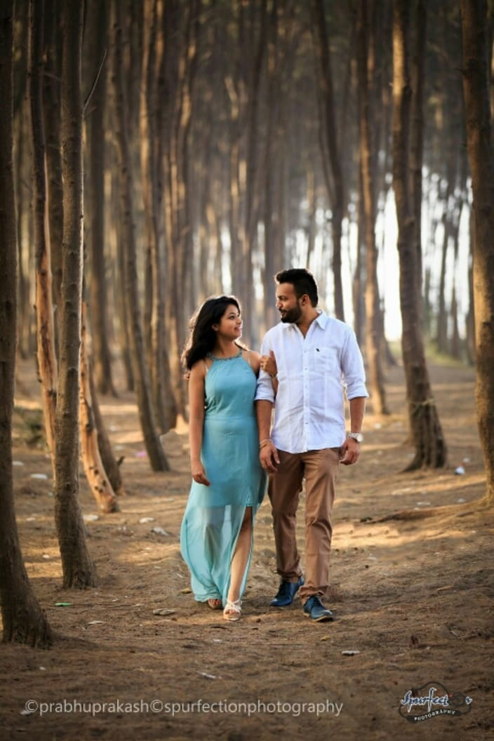 Indian Couple Pre Wedding Shoot By Spurfection Photography