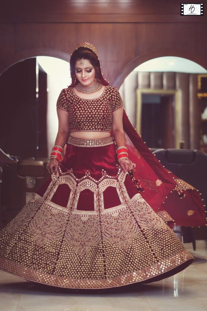 befe19363a Wedding Dresses Design Ideas - Lehenga for Punjabi - UrbanClap
