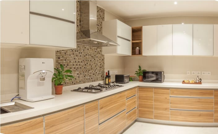 L Shaped Modular Kitchen Ideas