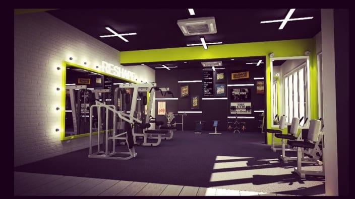 gym design ideas and photos urbanclapInterior Design For Gym #19