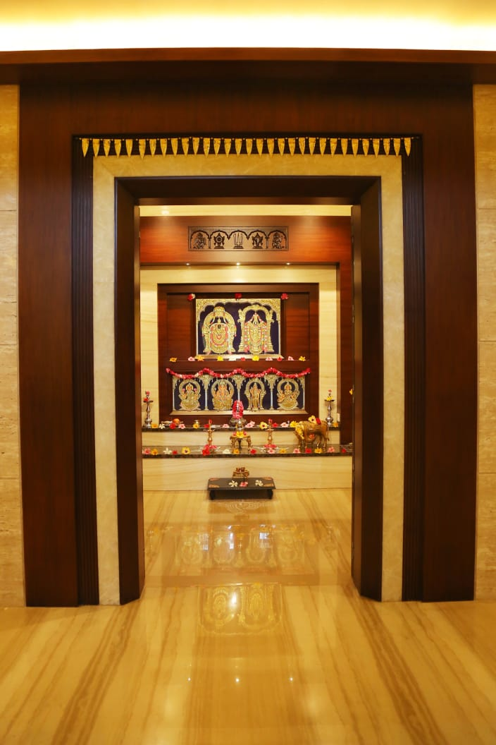Hindu Prayer Room Design: Hindu Prayer Room Decoration Ideas