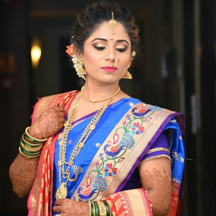 Marathi Dulhan Makeup Ideas For Your Wedding