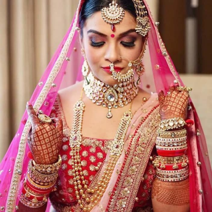 0ee4d8e2ce Graceful beauty! by Surbhi Arora Bridal-makeup | Weddings Photos & Ideas