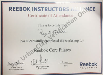 reebok certification