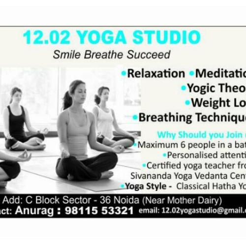 12.o2 Yoga Studio