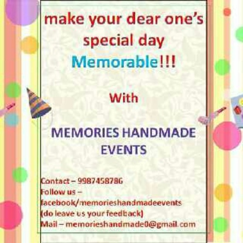 Memories Handmade Events