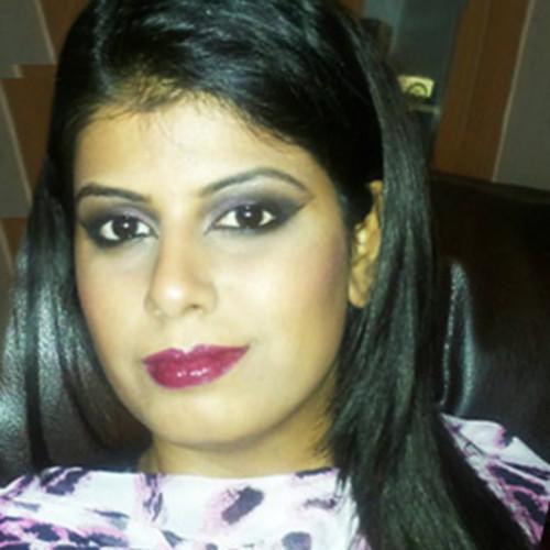 Sheetal Mali professional make-up and hair stylist