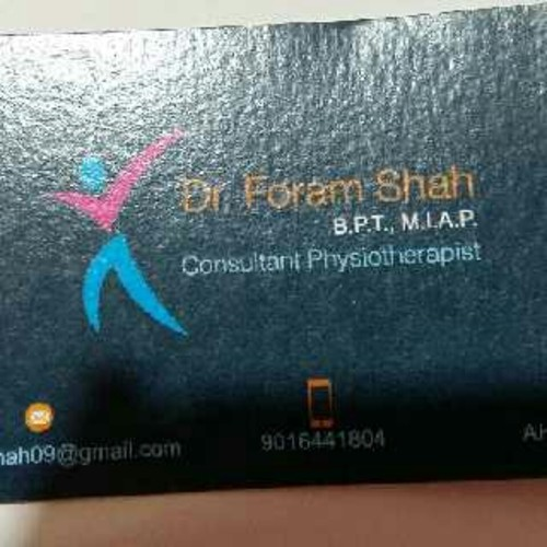 consultant physiotherapy