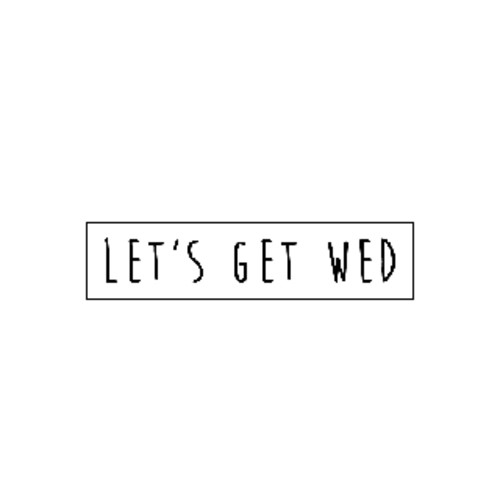 Lets Get Wed