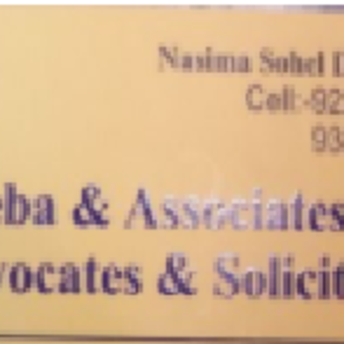 Advocate & Solicitor Nasima Don Theba