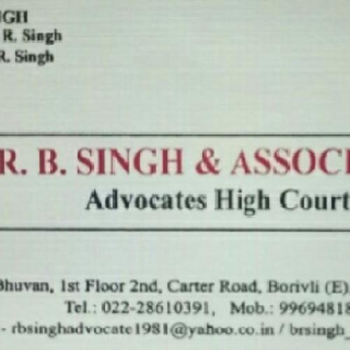 R B Singh & Associates