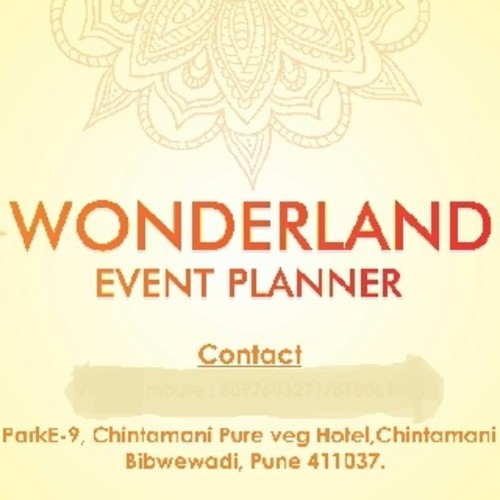Wonderland Event Planner
