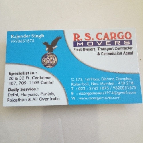 R S Cargo Movers