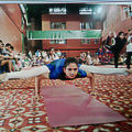 Neetu Saini - Yoga at home