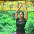 Yagnika Madhusudan - Yoga at home