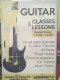 Anu Sinha - Guitar classes