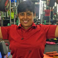 Sangeetharaman - Fitness trainer at home