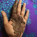 Sujitha Viswanathan - Bridal mehendi artist