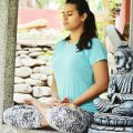 Niharika - Yoga trial at home