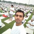 Arjun Singh - Yoga at home
