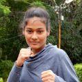 Bhagyashree Purohit - Fitness trainer at home