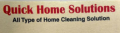 Quick home solutions - Professional home cleaning