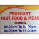 Prashant Fast Food and meals