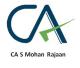 CA S Mohan Rajaan