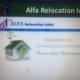 Alfa relocation india