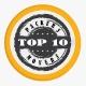 Top Ten Packers Movers