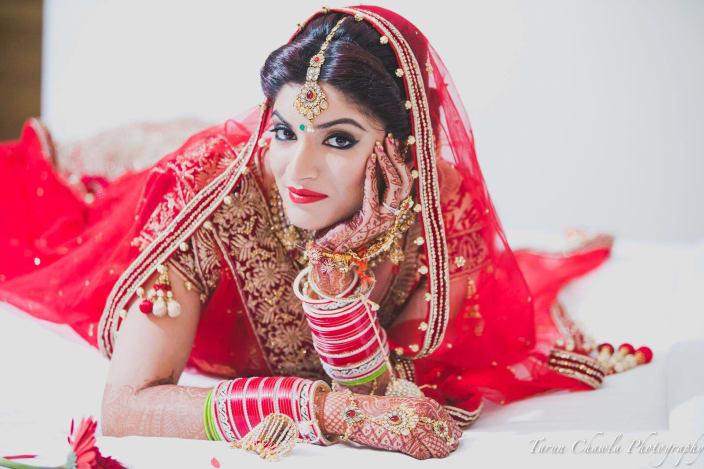 40000 Punjabi Wedding Makeup By Shruti Sharma
