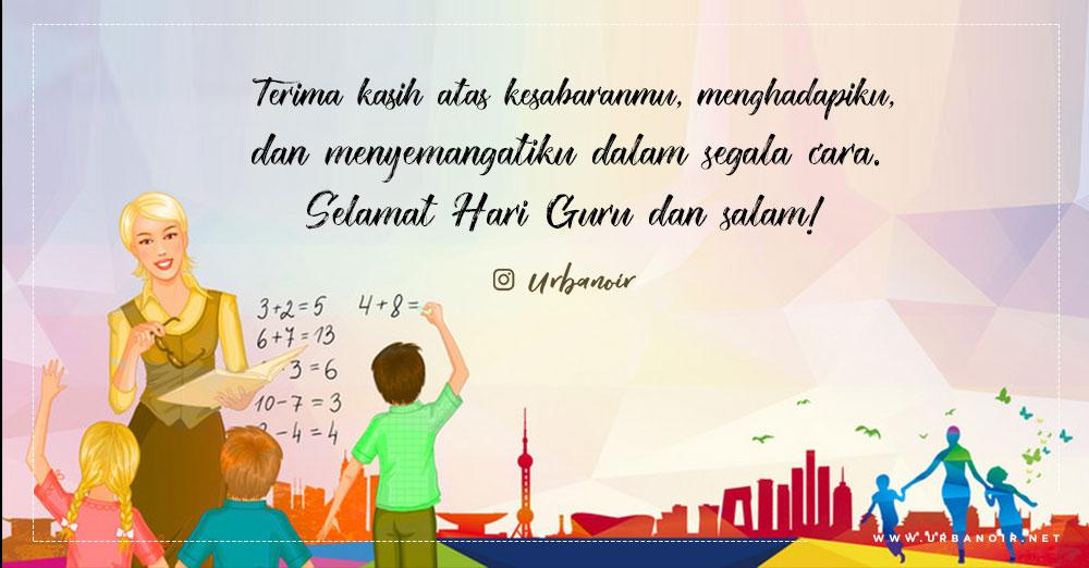 Kumpulan Kata-kata Selamat Hari Guru di Hari Guru Nasional 25 November 2018
