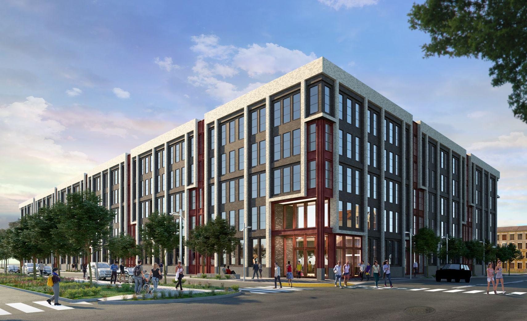 295J, the newest Jersey City luxury apartment near Liberty Harbor.