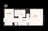 XS floorplan