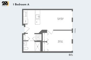 1 Bedroom A floorplan
