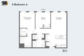2 Bedroom A floorplan